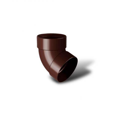 Отвод трубы двохмуфтовый 67' 100мм к