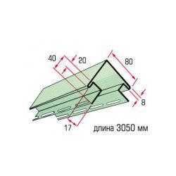 Планка угол наружный оливковый 3,05 м