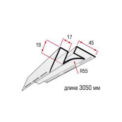 Угол внутринний фисташковый 3,05 м