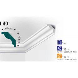 Плинтус потолочный Vidella I-40 2м (56)