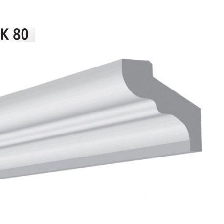 Плинтус потолочный Vidella К-80 2м (25