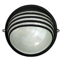Светильник 6020 60W IР54 черный (круг)