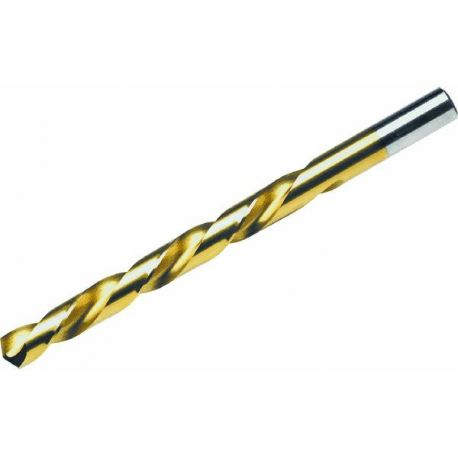 Сверло по металлу НSS, с титановым покрытием, 10 мм