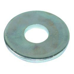 Шайба плоская увелич.цинк бел, М6, (код 142w)