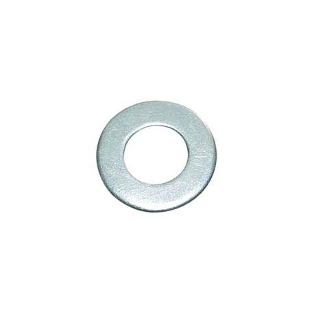 Шайба плоская цинк бел, М10, (код 141w)