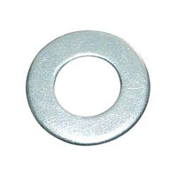 Шайба плоская цинк бел, М4, (код 141w)