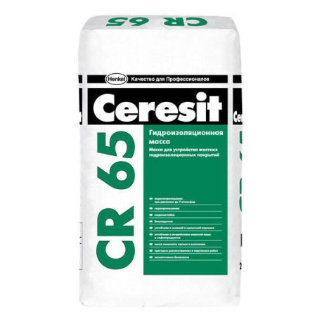 Водогерметичная смесь CR 65/25 кг