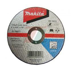 Диск отрезной по металлу 125х2,5х22,2 Makita
