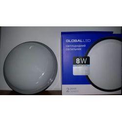 LED СВЕТИЛЬНИК GLOBAL HPL 8W 5000K E (1-HPL-001-С