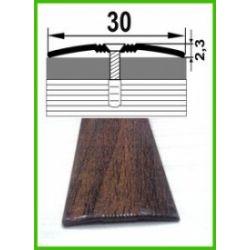 Алюминиевый порожек -006 Орех 0,9 м