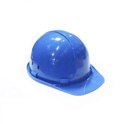 Каска строительная синяя  Украйна