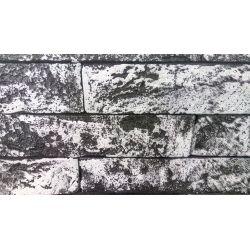 """Гипсовая плитка """"ОКСФОРД"""" без шва цветная  №3  (24*5 см, толщина 8 мм,67 шт,  0,8 м2)"""