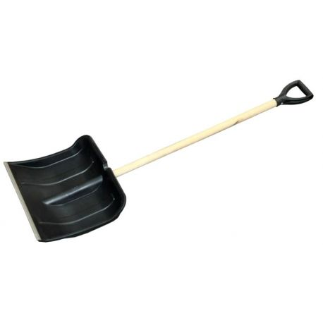 Лопата для снега малая пластиковая 320х420 мм (Украина)