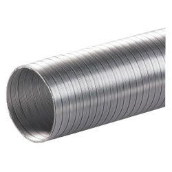Алюминиевый воздуховод, гофрированый D 120мм (3м)